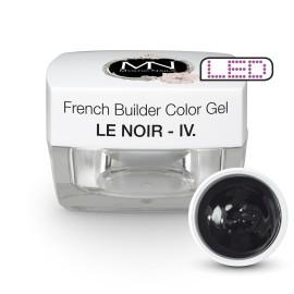 Gel UV De Constructie Colorat - Nr. 4 - Le Noir - 15 gr
