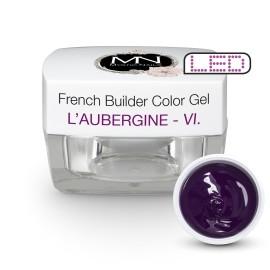 Gel UV De Constructie Colorat - Nr. 6 - L'Aubergine - 15 gr