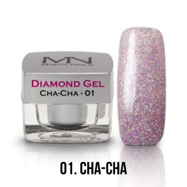 Gel UV Diamond - nr.01 - Cha-Cha - 4g