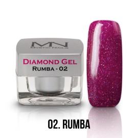 Gel UV Diamond - nr.02 - Rumba - 4g