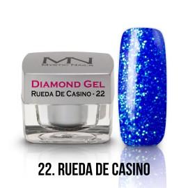 Gel UV Diamond - nr.22 - Rueda De Casino - 4g
