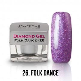 Gel UV Diamond - nr.26 - Folk Dance - 4g