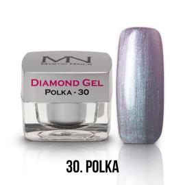 Gel UV Diamond - nr.30 - Polka - 4g