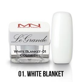 LeGrande Color Gel - nr.01 - White Blanket - 4 g