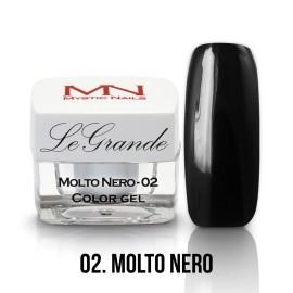 LeGrande Color Gel - nr.02 - Molto Nero - 4 g
