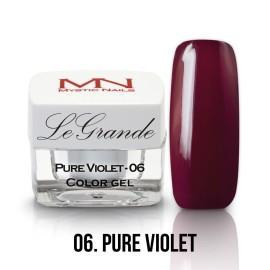 LeGrande Color Gel - nr.06 - Pure Violet - 4 g