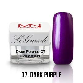 LeGrande Color Gel - nr.07 - Dark Purple - 4 g