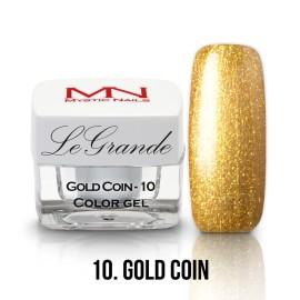 LeGrande Color Gel - nr.10 - Gold Coin - 4 g