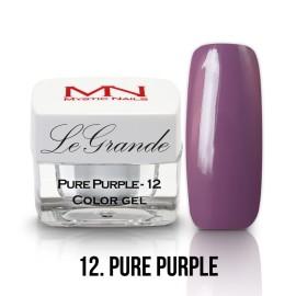 LeGrande Color Gel - nr.12 - Pure Purple - 4 g