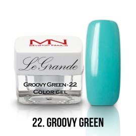 LeGrande Color Gel - nr.22 - Groovy Green - 4 g