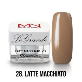 LeGrande Color Gel - nr.28 - Latte Macchiato - 4 g