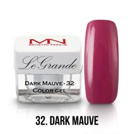 LeGrande Color Gel - nr.32 - Dark Mauve - 4 g