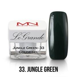 LeGrande Color Gel - nr.33 - Jungle Green - 4 g