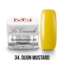 LeGrande Color Gel - nr.34 - Dijon Mustard - 4 g
