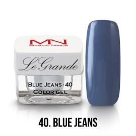 LeGrande Color Gel - nr.40 - Blue Jeans - 4g<br /><br /><br /><br />