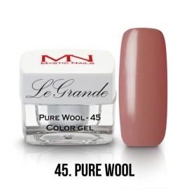 LeGrande Color Gel - nr.45 - Pure Wool - 4g