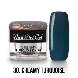 Gel UV - Nail Art Painting  30 - Turquoise - 4g
