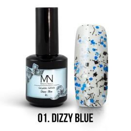 Gel Lac - Mystic Nails Dizzy no.01. - Dizzy Blue 12 ml