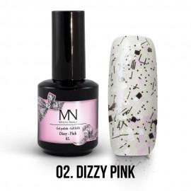 Gel Lac - Mystic Nails Dizzy no.02. - Dizzy Pink 12 ml