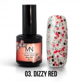 Gel Lac - Mystic Nails Dizzy no.03. - Dizzy Red 12 ml