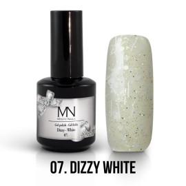 Gel Lac - Mystic Nails Dizzy no.07. - Dizzy White 12 ml