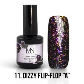 Gel Lac Dizzy 11 - Dizzy Flip Flop A 12 ml