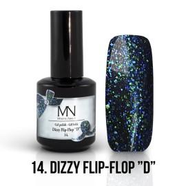 Gel Lac Dizzy 14 - Dizzy  Flip Flop D