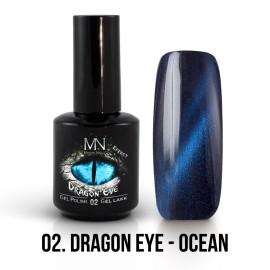 Mystic Nails Efect Ochi De Dragon 02 - Ocean 12 ml