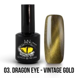 Mystic Nails Efect Ochi De Dragon 03 - Vintage Gold 12 ml