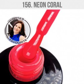 Gel Lac - Mystic Nails 156 - Neon Coral 12 ml