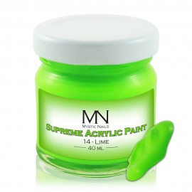 Supreme Acrylic Paint - no.14 - Lime - 40 ml